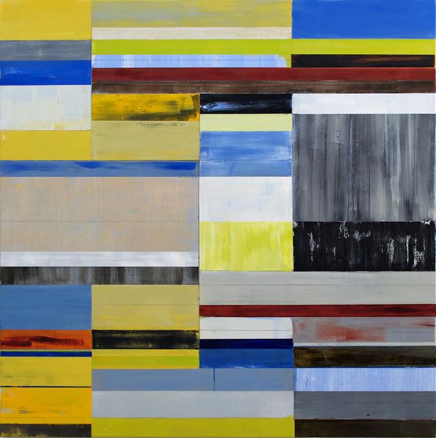 , 'Grey Check,' 2016, Friesen Gallery