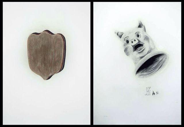 , 'Untitled (díptico),' 2014, KEWENIG