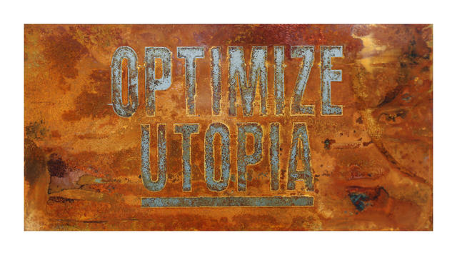 , 'OPTIMIZE UTOPIA (Echoes Series),' 2016, Marc Azoulay