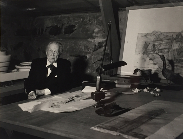 , 'Frank Lloyd Wright, The Last Portrait ,' 1958, Edward Cella Art and Architecture
