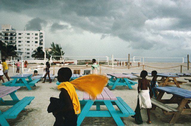 Alex Webb, 'Miami Beach, Florida', 1989, Photography, Pearl surface Cibachrome print, Etherton Gallery
