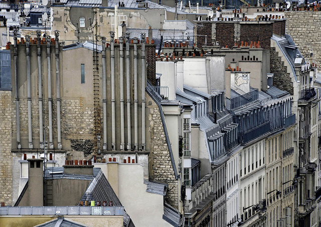 , 'Paris Rooftops #8,' 2014, Bruce Silverstein Gallery