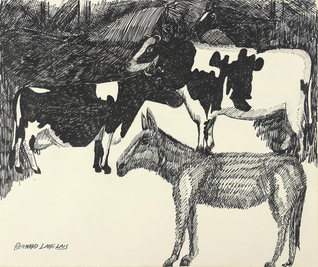 Bernard Langlais, 'In the Barn', ca. 1970, Alexandre Gallery