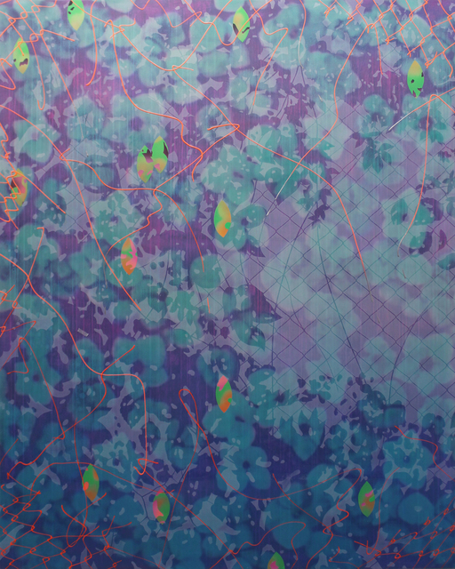 , 'Nostalgia V (green/purple),' 2016, C. Grimaldis Gallery