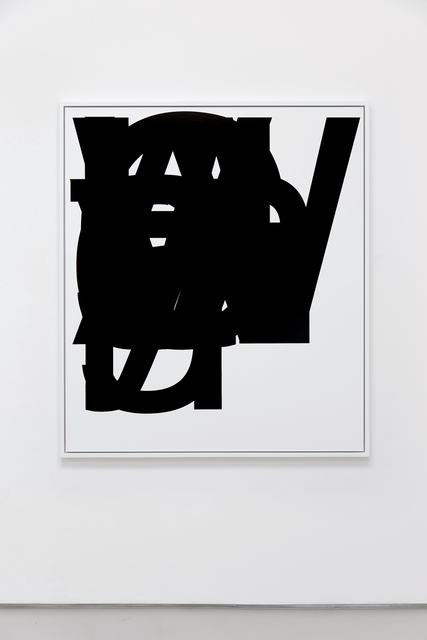 , 'By,' 2015, Roberts Projects