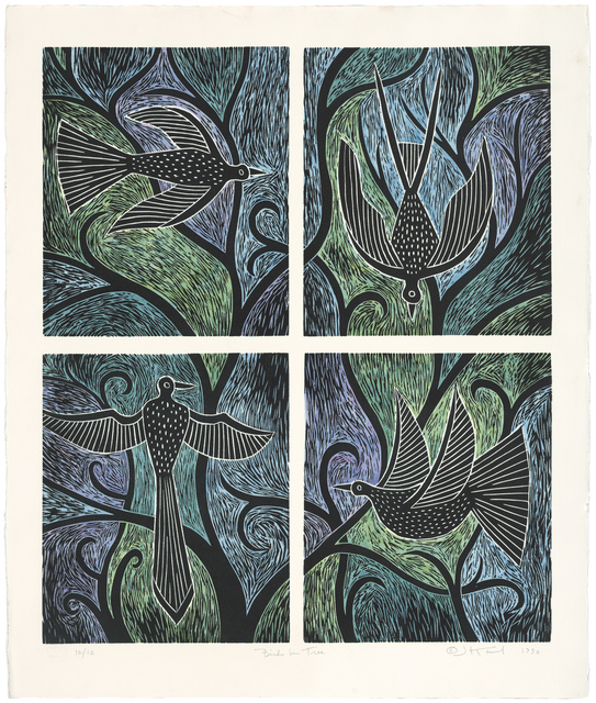 Judy Kensley McKie, 'Birds in Tree', 1990, Gallery NAGA