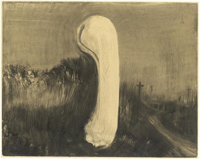 Zhang Lei 张雷, 'White Bone in the Wild 立在荒野里的白骨头', 2014, PIFO Gallery