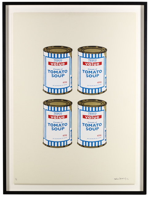 Banksy, 'Soup Cans Quad (Cream Paper)', 2006, Chiswick Auctions