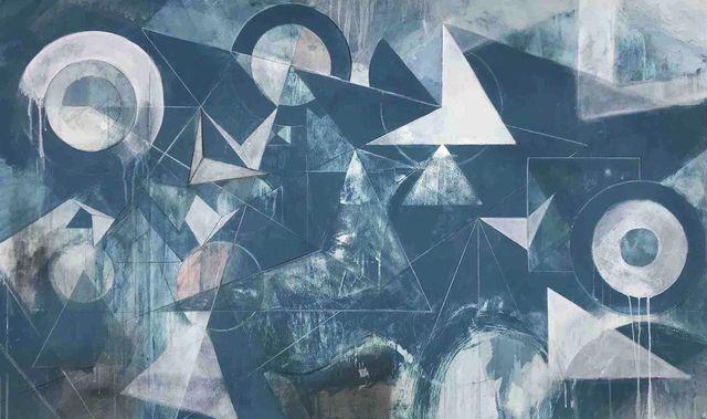, 'Cendre Blue,' 2017, Tayloe Piggott Gallery