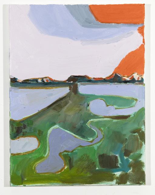 , 'Landscape Colour Study Orange,' 2019, Huxley-Parlour