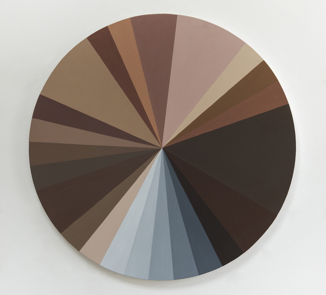 , 'Polvo Color Wheel III,' 2014, Victoria Miro