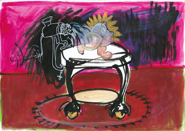 , 'ooogh,' 2018, Sulger Buel Gallery