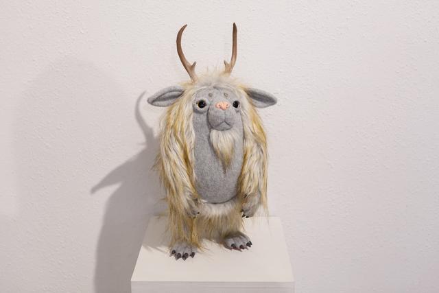 ", 'Lepus Yeti ""Dingus"",' 2017, Flower Pepper Gallery"