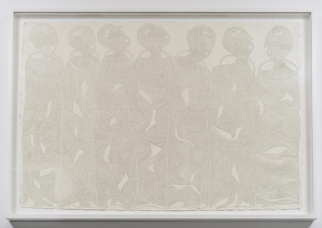 , 'We are Uzama-nihion, the seven kingmakers,' 2017, Tyburn Gallery