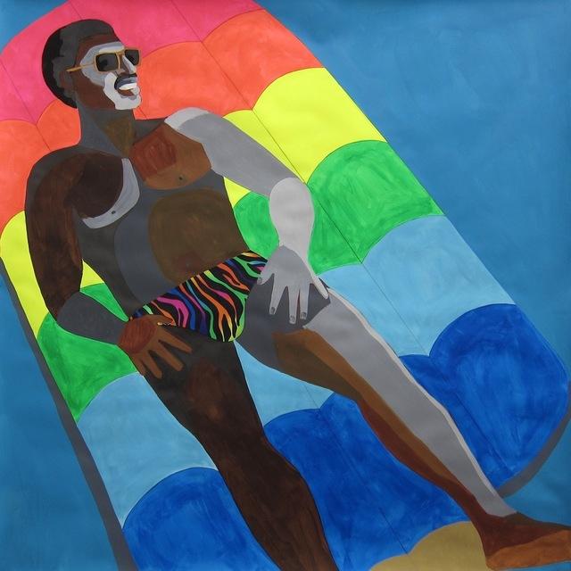 , 'Floater No.16 (Rainbow Popsicle),' 2016, Vigo Gallery