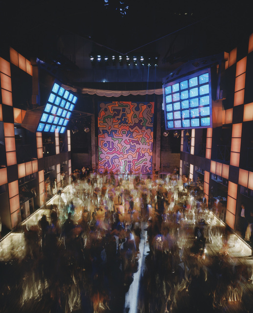 Timothy Hursley, 'Untitled Keith Haring Backdrop at Palladium 1', 1985, Garvey | Simon