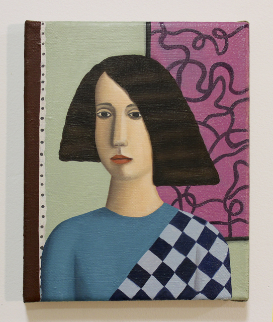 , 'The Checkered Blouse,' 2015, Mary Mary