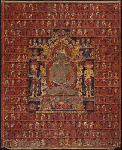 , 'The cosmic Buddha Amoghasiddhi,' ca. 1275-1350, Asian Art Museum