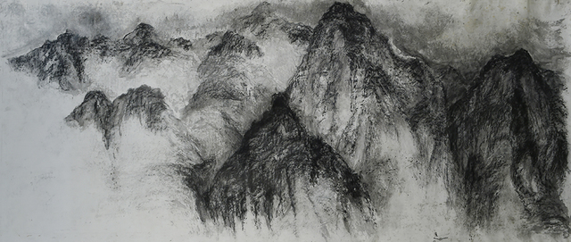 , 'Jingang Mountain No.2,' 2014, Yuan Ru Gallery