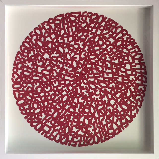 , 'Concentric Red,' 2017, Parlor Gallery