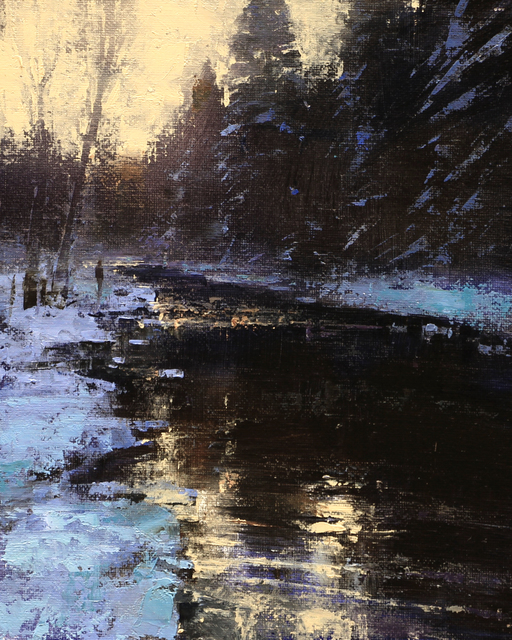, 'WINTER SOLITUDE,' 2016, Trailside Galleries