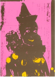 Ford Beckman, 'Neon Clown (Pink with Orange),' 1994, Heritage Auctions: Valentine's Day Prints & Multiples
