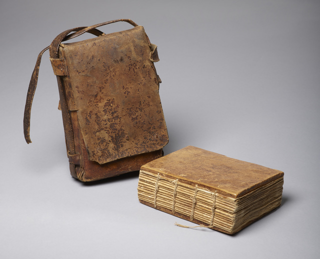 , 'Codex of Psalter and other texts with satchel,' Ethiopia-18th century AD, Bard Graduate Center Gallery