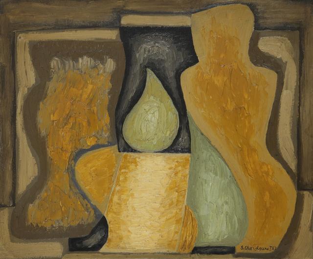 , 'Nature morte à la figue verte,' 1927, Galerie Le Minotaure