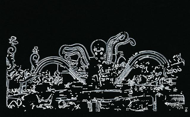 , 'Pieuvre,' 2017, Galerie Geraldine Banier