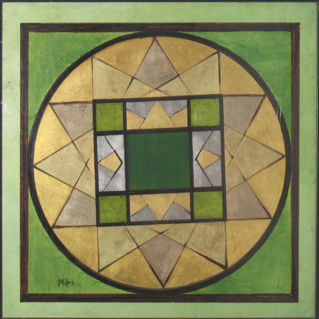 , 'Green Mandala,' 1975-1981, Anita Shapolsky Gallery