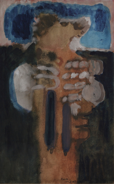 , 'Untitled (1963.8.23),' 1963, Galerie Nathalie Obadia