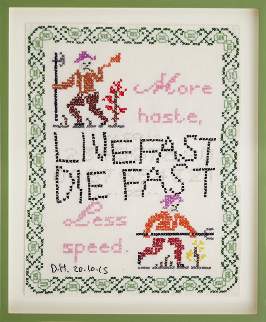 , 'Live Fast Die Fast,' 2015, New Art Centre
