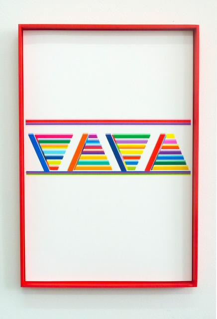 , 'URUMU_050114_08 (Triangulo y linea),' 2014, Instituto de Visión