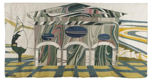 Nanda Vigo, 'A wool tapestry', 1992, Cambi