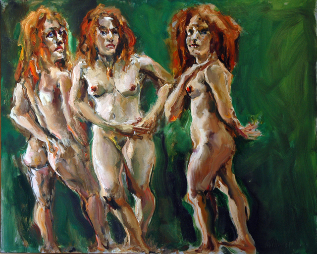 , 'The Three Graces,' 2009, C. Grimaldis Gallery