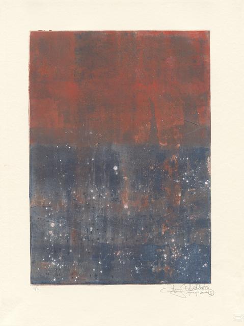 , 'Van Nuys Monotype Series No. 9 凡奈斯絹印單刷系列,' 2017, Artrue Gallery