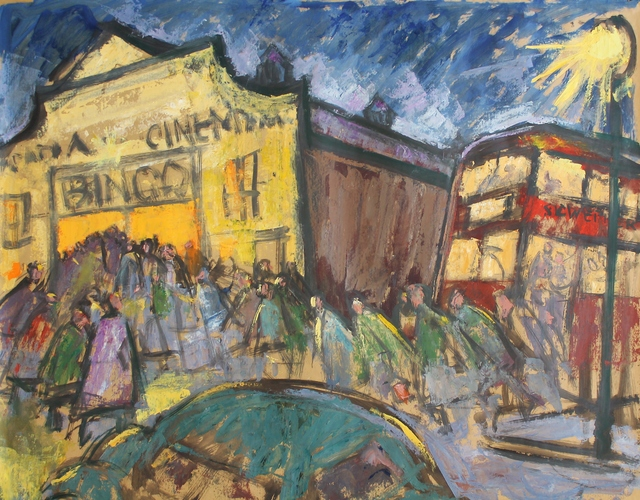 Norman Cornish, 'Arcadia Cinema, Spennymoor', 1964, Castlegate House Gallery