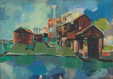 Venice, Squero di San Trovaso