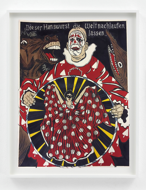 , 'Let the Women rule after the clown is through,' 2018, Sies + Höke