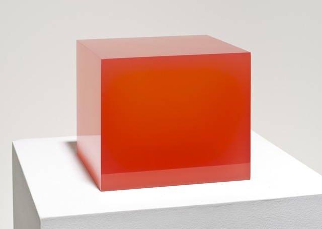 , 'Untitled, Red Cube,' 2015, NYEHAUS