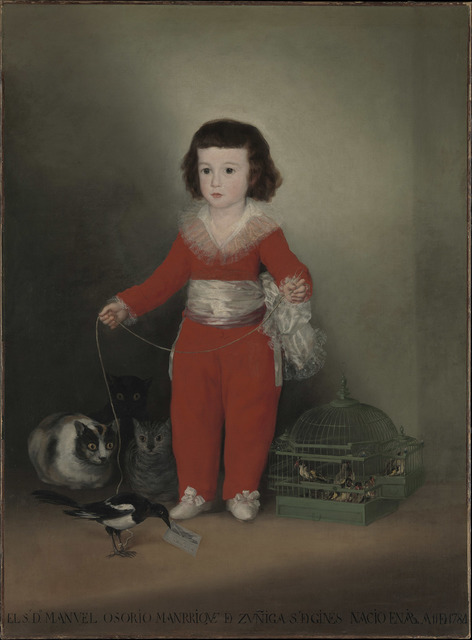 , 'Manuel Osorio Manrique de Zuñiga,' 1788, The National Gallery, London