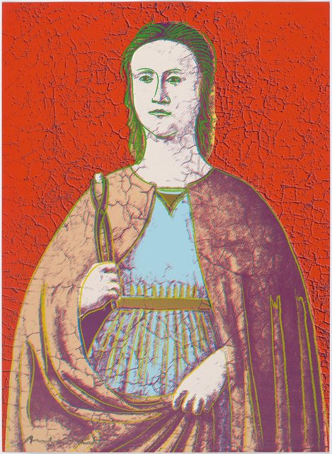 Andy Warhol, 'Saint Apollonia', 1984, Koller Auctions