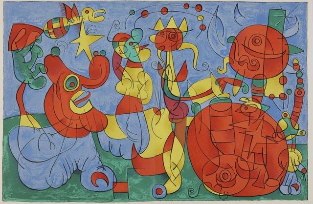 Joan Miró, 'Ubu Roi (Cramer Bks. 107)', 1966, Sotheby's