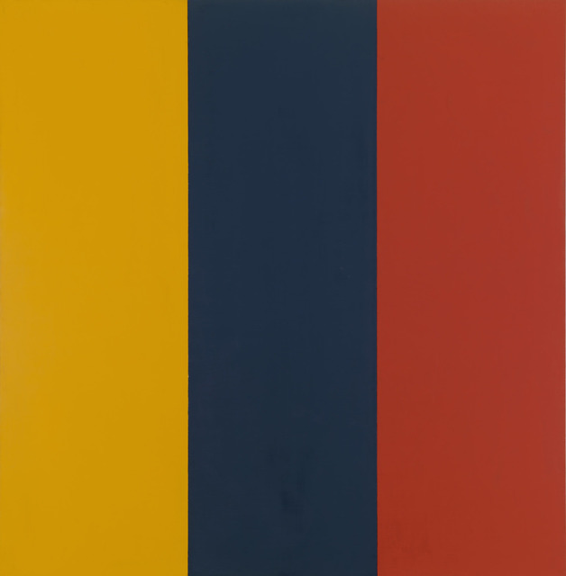 , 'Red Yellow Blue II,' 1974, Gagosian