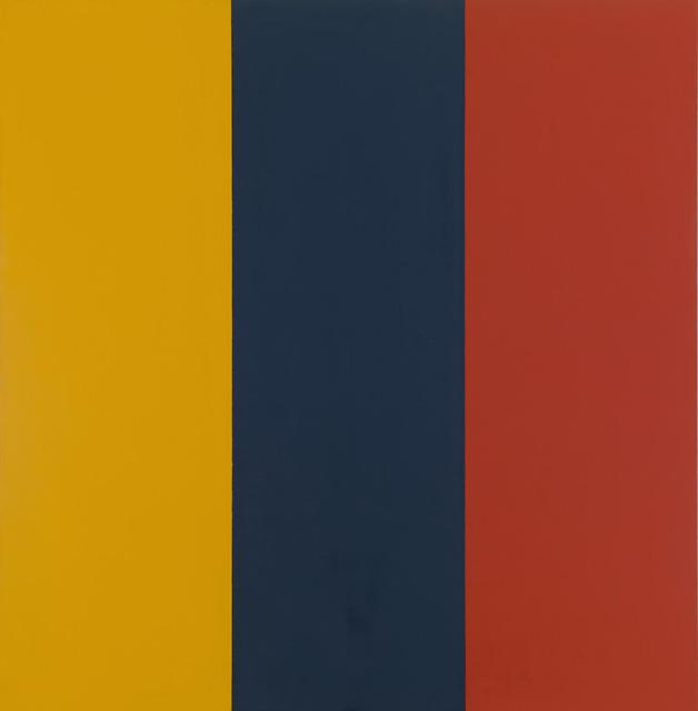 , 'Red Yellow Blue II,' 1974, Gagosian Gallery