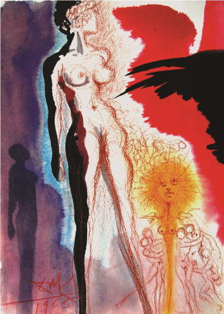 Salvador Dalí, 'Lot's Wife, Turned Into A Statue Of Salt', 1967, Baterbys