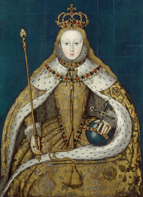 , 'Elizabeth I of England,' ca. 1600, Musée du Luxembourg
