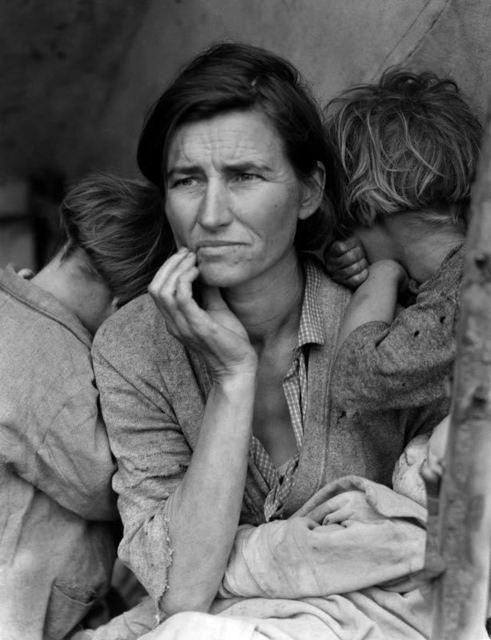 Dorothea Lange, ''Migrant Mother'', ca. 1936, Galerie Prints