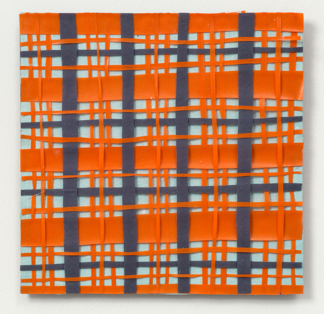 Lisa Milroy, 'Weaving Painting (red-gray)', 2015, One Off Contemporary Art Gallery