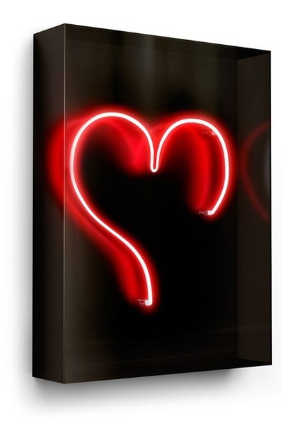 David Drebin, 'Big Heart', 2010-2020, Installation, Neon Sign, Onessimo Fine Art